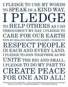Pledge for Peace
