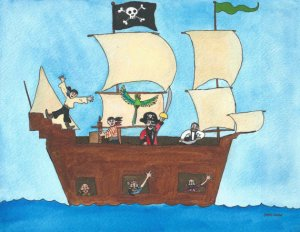 Pirate Ship by Justin Canha