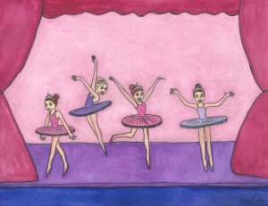 Ballerinas by Justin Canha