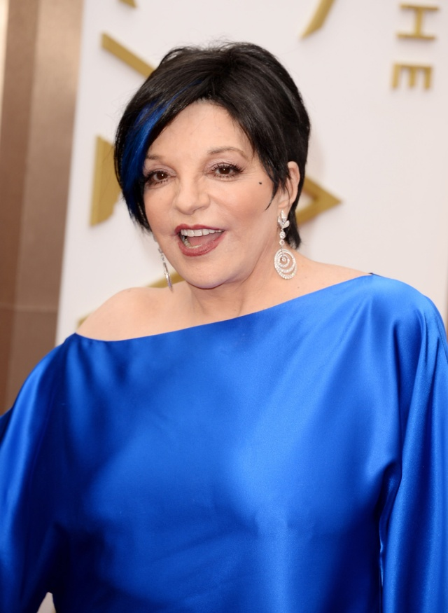 Fuck Yeah! Liza Minelli has Boobs