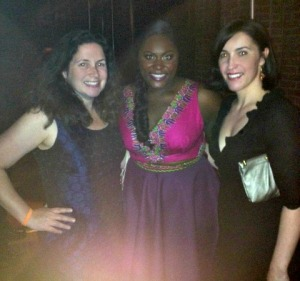 Fan girls with Danielle Brooks!