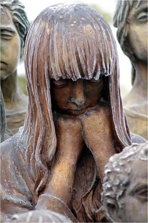 Lidice children sculpture massacre 5