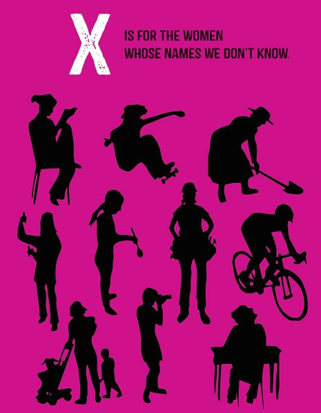 X is for Women Whose Names We Don't Know