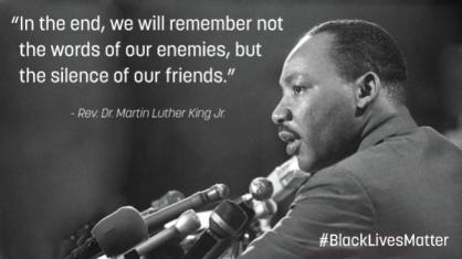 MLK Black Lives Matter